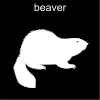 beaver Pictogram