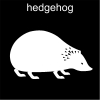 hedgehog Pictogram