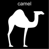 camel Pictogram