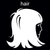 hair Pictogram