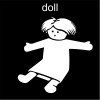 doll Pictogram