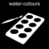 water-colours Pictogram