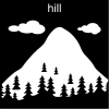 hill Pictogram