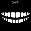 teeth Pictogram