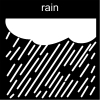 rain Pictogram