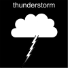 thunderstorm Pictogram