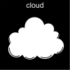 cloud Pictogram