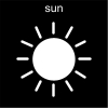 sun Pictogram