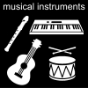 musical instruments Pictogram