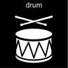 drum Pictogram
