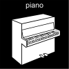 piano Pictogram