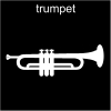 trumpet Pictogram