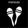 maracas Pictogram
