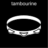 tambourine Pictogram
