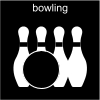 bowling Pictogram