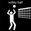 volley ball Pictogram