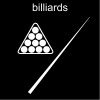 billiards Pictogram