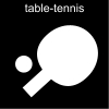 table-tennis Pictogram