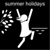 summer holidays Pictogram