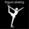 firgure skating Pictogram