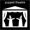 puppet theatre Pictogram