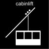 cabinlift Pictogram