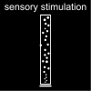 sensory stimulation Pictogram