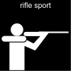 rifle sport Pictogram
