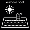outdoor pool Pictogram