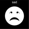 sad Pictogram