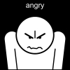 angry Pictogram