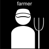 farmer Pictogram