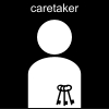 caretaker Pictogram