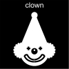 clown Pictogram