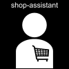 shop-assistant Pictogram