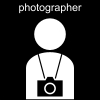 photographer Pictogram