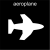 aeroplane Pictogram