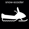 snow-scooter Pictogram