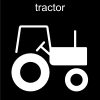 tractor Pictogram