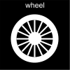 wheel Pictogram