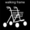 walking frame Pictogram