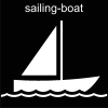 sailing-boat Pictogram