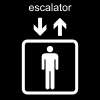 escalator Pictogram