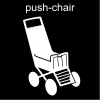 push-chair Pictogram