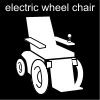 electric wheel chair Pictogram