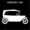 veteran car Pictogram