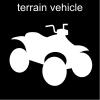 terrain vehicle Pictogram