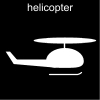 helicopter Pictogram