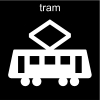 tram Pictogram
