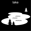 lake Pictogram